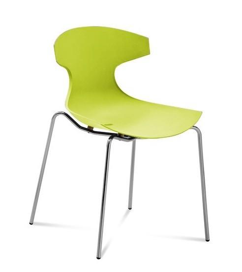 Jedálenské stoličky Jedálenská stolička Echo zelená