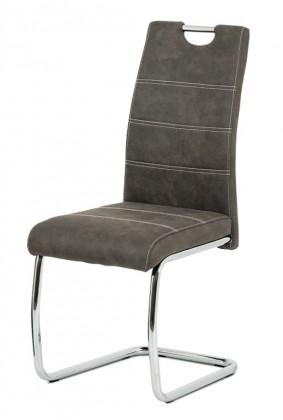 Jedálenské stoličky Jedálenská stolička Grama antracit/chróm