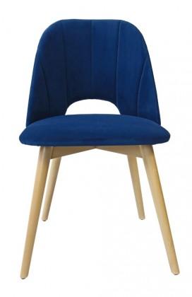 Jedálenské stoličky Jedálenská stolička Grede (dub sonoma, modrá)