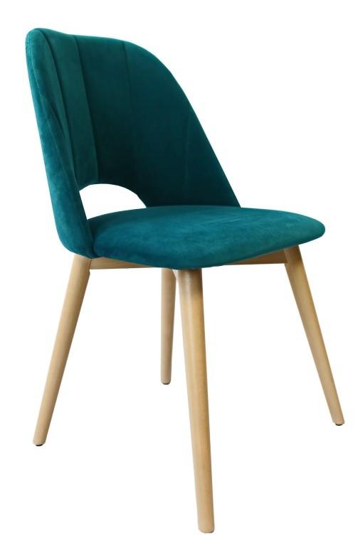 Jedálenské stoličky Jedálenská stolička Grede (dub sonoma, petrol)