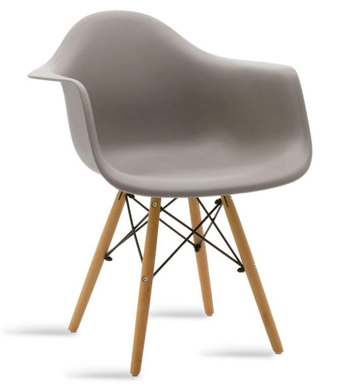 Jedálenské stoličky Jedálenská stolička Justy dub, sivá