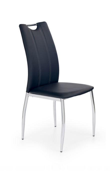 Jedálenské stoličky Jedálenská stolička K187 čierna