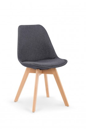 Jedálenské stoličky Jedálenská stolička K303 sivá