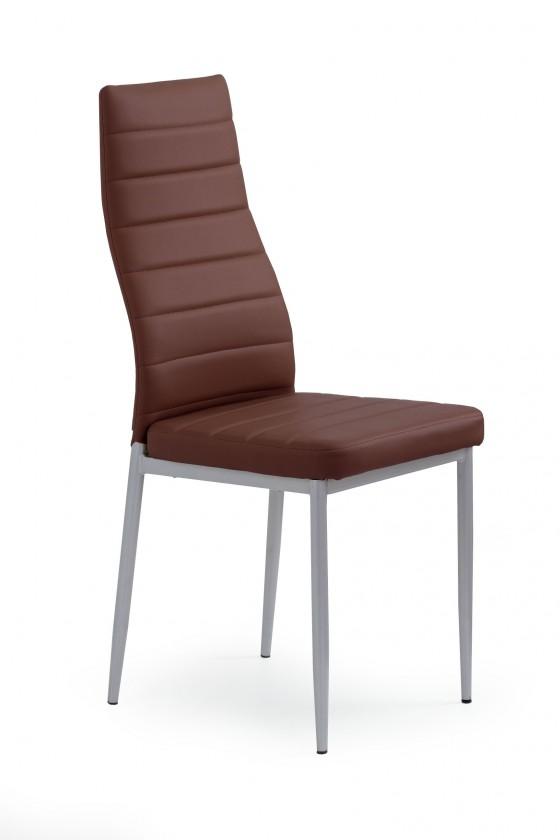 Jedálenské stoličky Jedálenská stolička K70 (tmave hnedá)