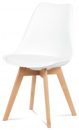 Jedálenské stoličky Jedálenská stolička Lina biela