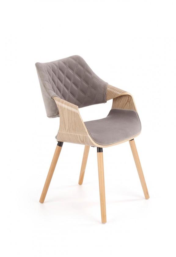 Jedálenské stoličky Jedálenská stolička Manza sivá