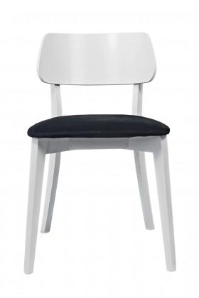Jedálenské stoličky Jedálenská stolička Medal biela, čierna