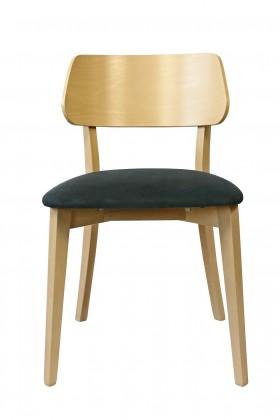 Jedálenské stoličky Jedálenská stolička Medal dub, sivá