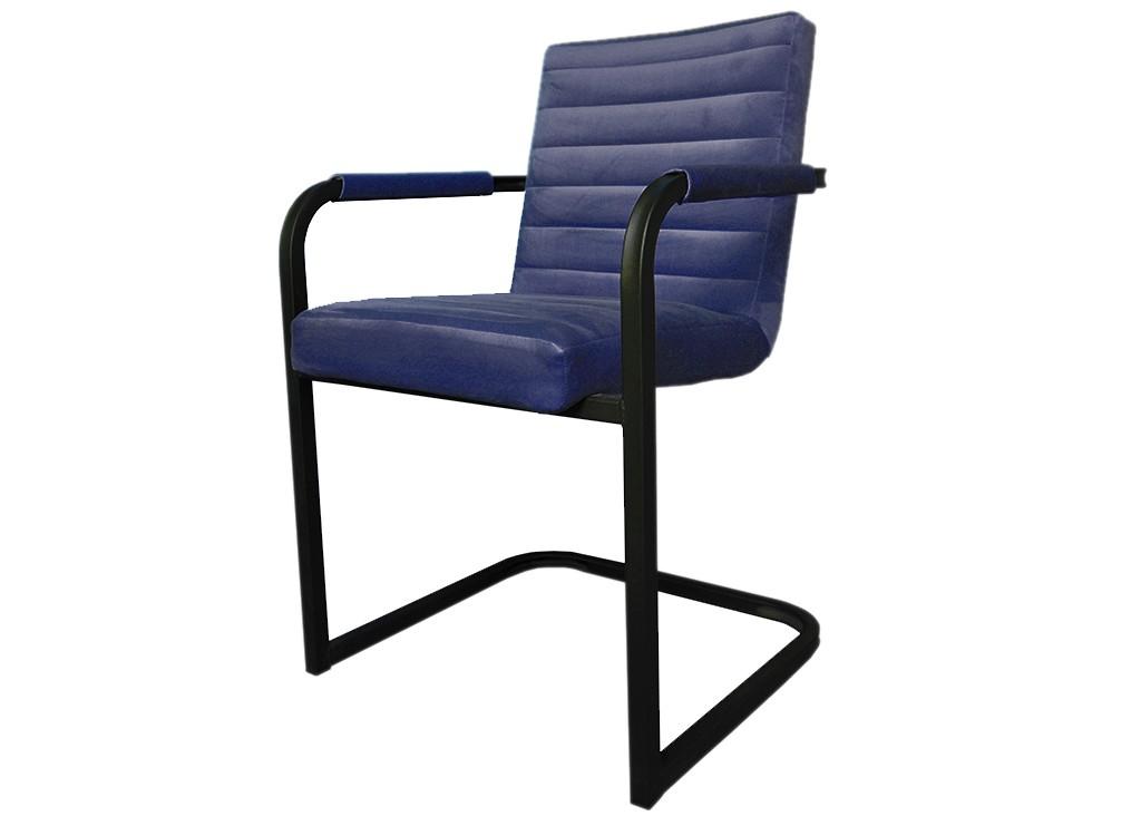 Jedálenské stoličky Jedálenská stolička Merenga čierna, modrá