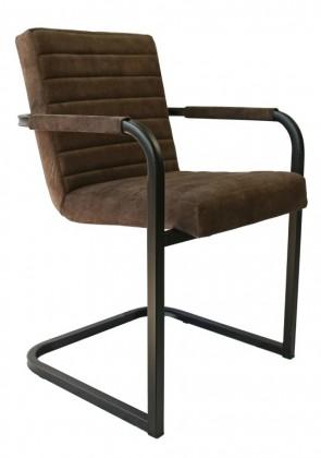 Jedálenské stoličky Jedálenská stolička Merenga čierna, tmavo hnedá