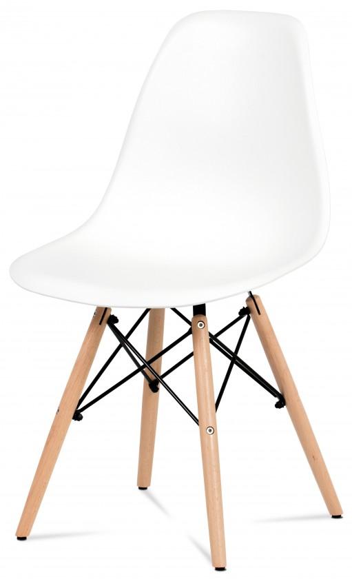 Jedálenské stoličky Jedálenská stolička Mila biela