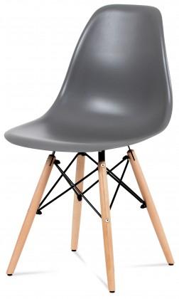 Jedálenské stoličky Jedálenská stolička Mila sivá