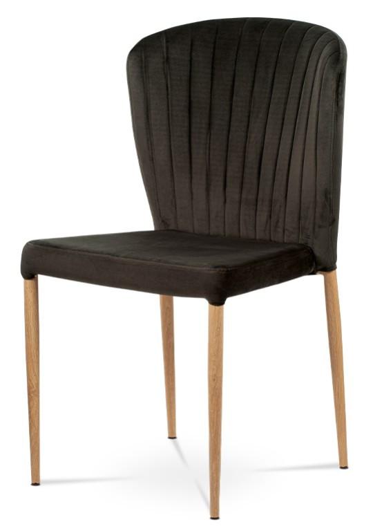 Jedálenské stoličky Jedálenská stolička Nitte dub, sivá