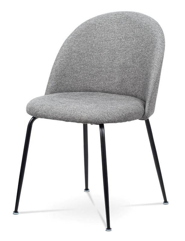 Jedálenské stoličky Jedálenská stolička Prudence (sivá, čierna)