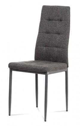 Jedálenské stoličky Jedálenská stolička Rombo (sivá)