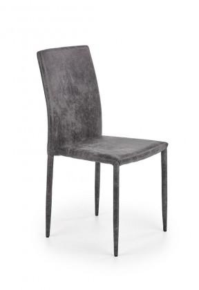 Jedálenské stoličky Jedálenská stolička Saiza sivá