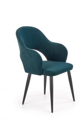 Jedálenské stoličky Jedálenská stolička Tunja zelená