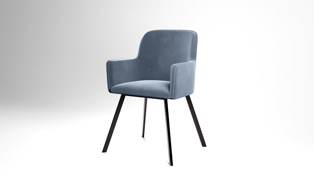 Jedálenské stoličky Jedálenská stolička Vian sivá