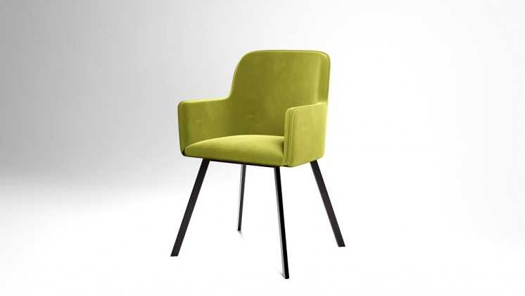 Jedálenské stoličky Jedálenská stolička Vian zelená, čierna