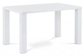 Jedálenský stôl Agil biela - ROZBALENÉ