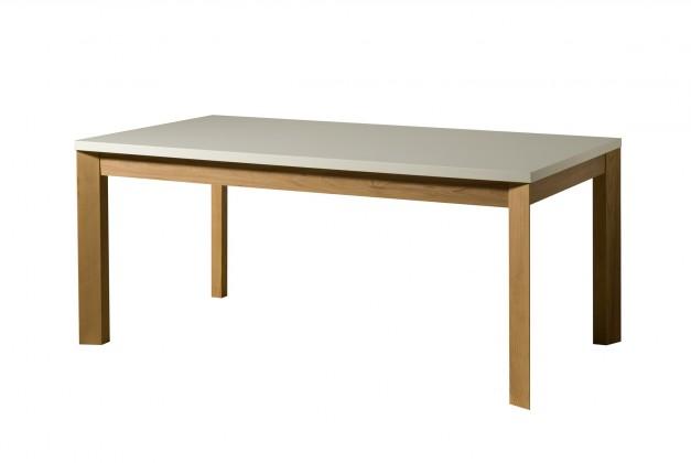 Jedálenský stôl Almera - Jedálenský stôl 190 cm (biela/dub)