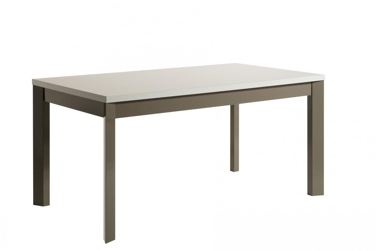 Jedálenský stôl Almera - Jedálenský stôl 190 cm (biela/sivá)