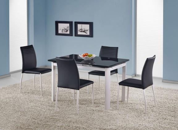Jedálenský stôl Alston (čierná)