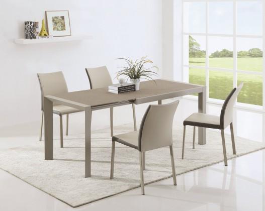 Jedálenský stôl Arabis 2 - Jedálenský stôl 120-182x80 cm (svetlo hnedá, béžová)