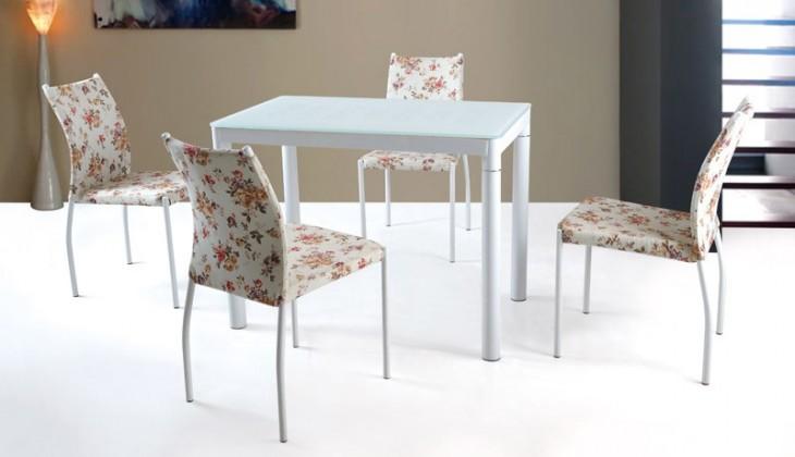 Jedálenský stôl Argus (bielá)