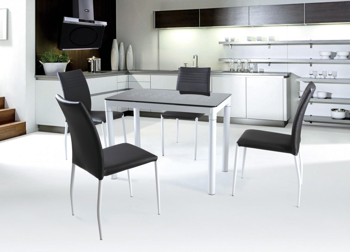 Jedálenský stôl Argus (čierná)