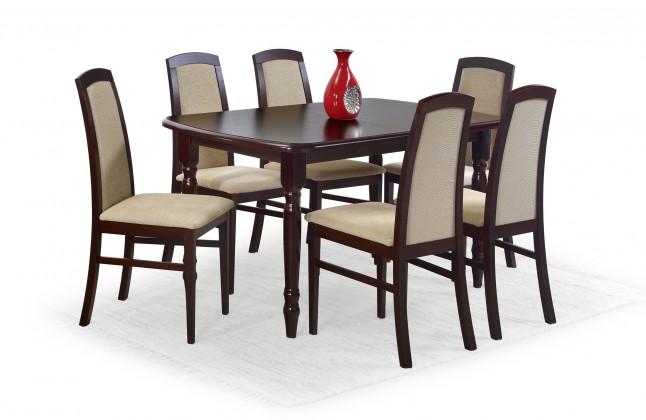 Jedálenský stôl Arnold (orech tmavý)