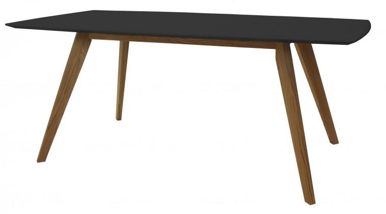 Jedálenský stôl BESS 2180-024(čierna/dub)