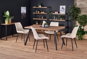 Jedálenský stôl Billy rozkladací (orech, čierna)