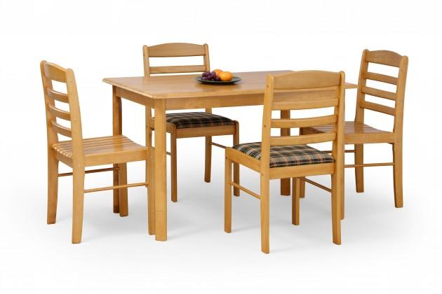 Jedálenský stôl Calvin - Jedálenský stôl - masív jelša