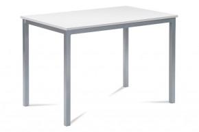Jedálenský stôl Ciblo (biela, sivá)