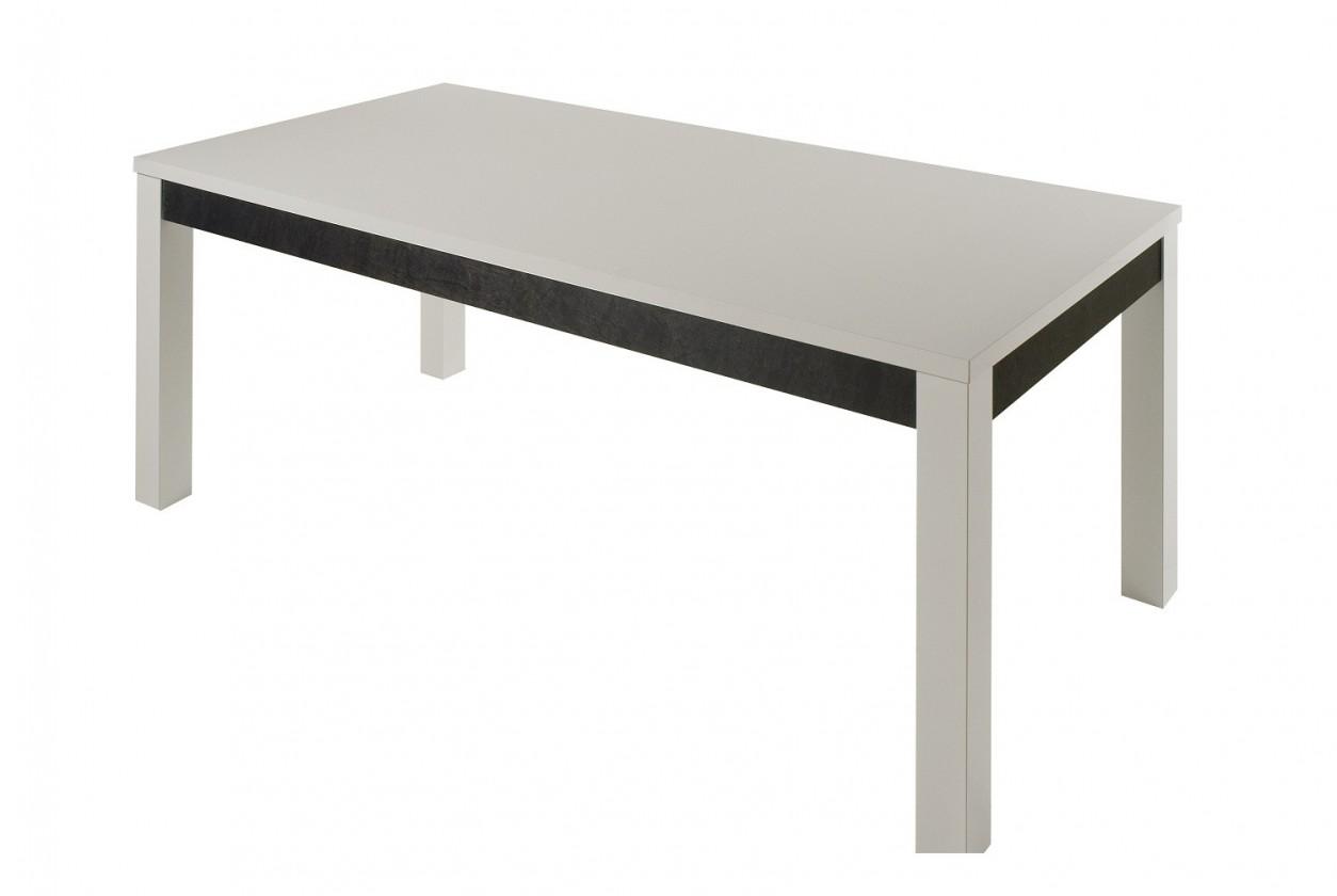 Jedálenský stôl Cooper - Jedálenský stôl 160 cm (biela)