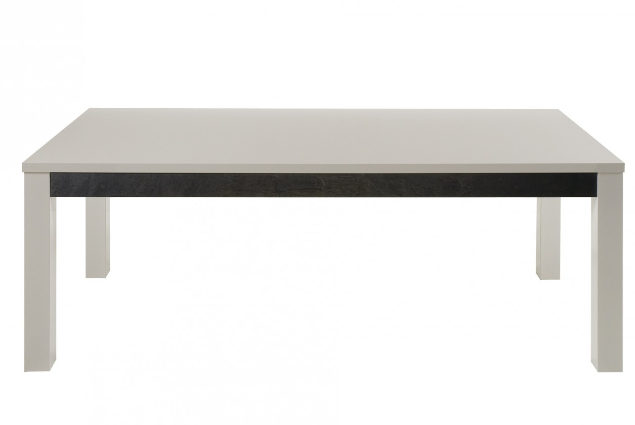 Jedálenský stôl Cooper - Jedálenský stôl 190 cm (biela)