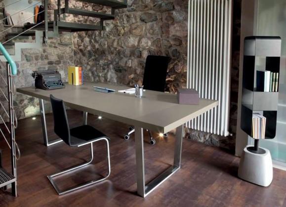 Jedálenský stôl Cruise - 200 cm (kostra nikl/deska písek)