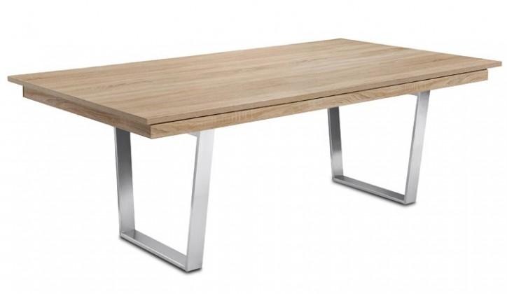 Jedálenský stôl Deck 190 cm (doska dub/kostra oceľ)