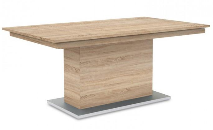 Jedálenský stôl Deck 190 cm (doska dub/kostra postavec dub)