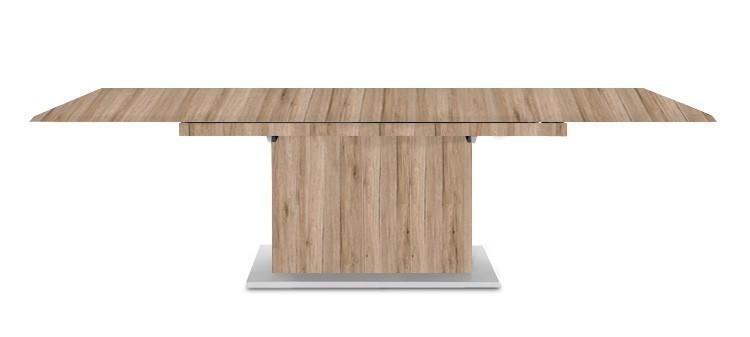 Jedálenský stôl Deck 190 cm, rozkladacia (pieskový dub/pieskový dub)