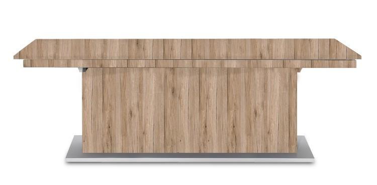 Jedálenský stôl Deck 220 cm (doska pieskový dub/kostra postavec pieskový dub)