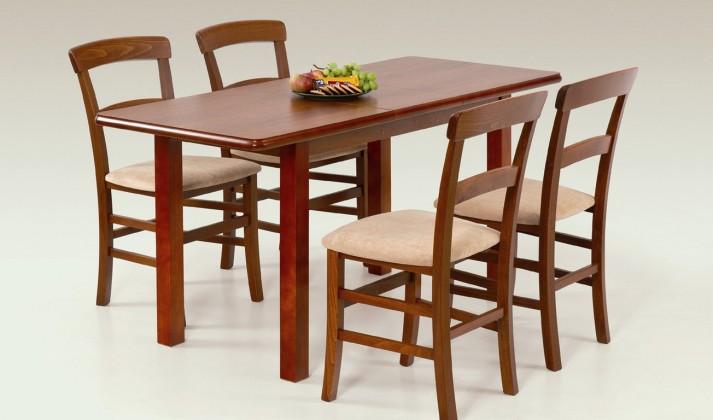Jedálenský stôl Dinner 120/158 (třešeň)