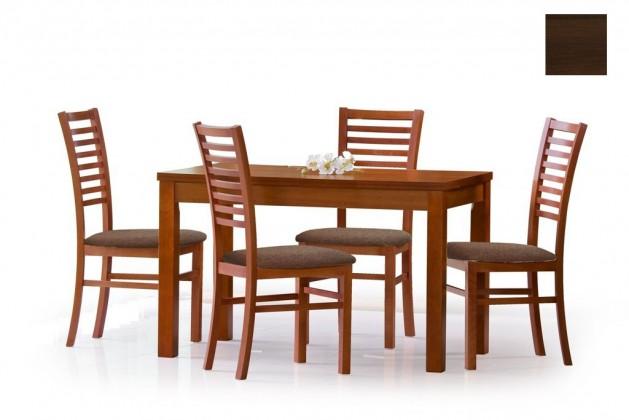 Jedálenský stôl Ernest  120/160 (tmavý ořech)