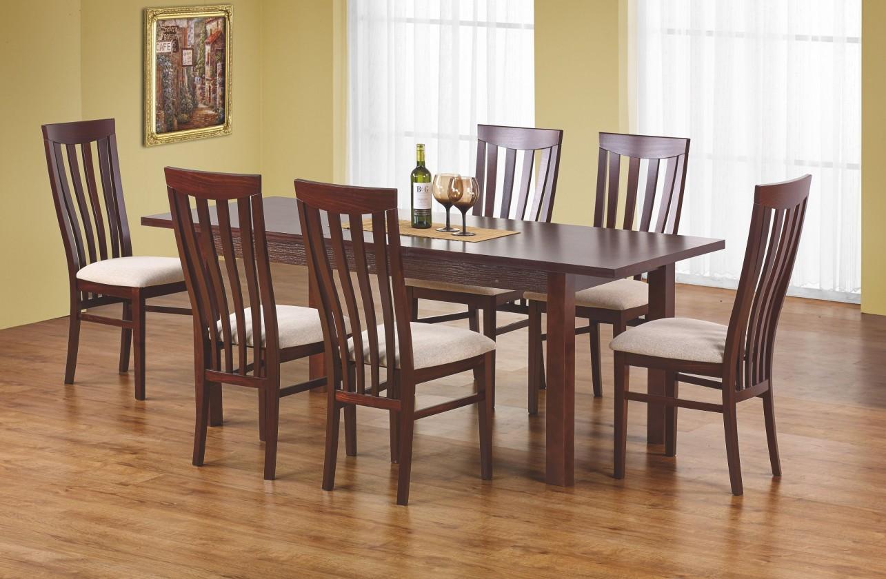 Jedálenský stôl Ernest 160/200 cm (čerešňa)