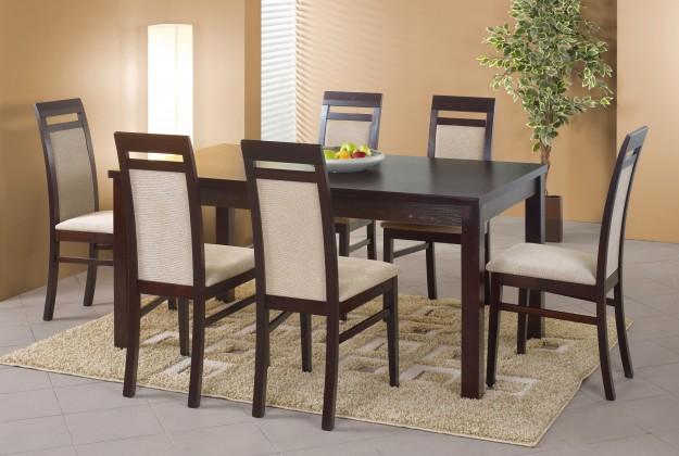 Jedálenský stôl Ernest 2 (tmavý orech)