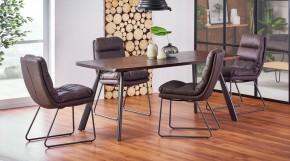Jedálenský stôl Finn (orech, sivá)