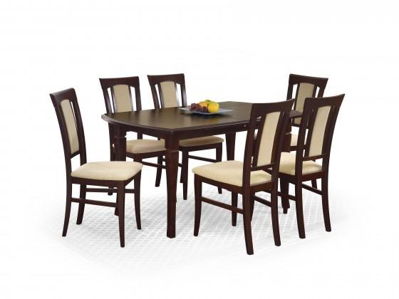 Jedálenský stôl Fryderyk - Jedálenský stôl 160/200 (orech temný)