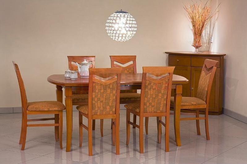 Jedálenský stôl Fryderyk (jelša)