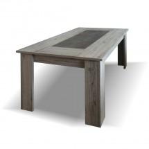 Jedálenský stôl Glen - 160x76x90 cm (figaro, betón)